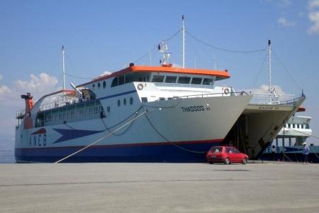 Συγκοινωνία πλοίων Θάσου