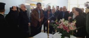 Τον πρώτο σταθμό ΕΚΑΒ στη Θάσο εγκαινίασε ο Πολάκης