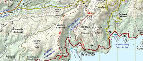 Πεζοπορική βόλτα στο μεγαλύτερο φαράγγι της Θάσου